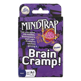Outset Media, MindTrap Brain Cramp Card Game, Ages 10 and Older, 1 Or More Players