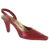 Walk by Faith High Heel Shoe Ornament, Red Resin, 6 1/4 x 3 1/4 inches