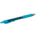 Pilot, G2 Retractable Gel Roller Pen with Rubber Grip, Fine Point, Polka Dots Turquoise, 1 Each