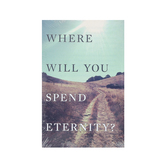 Good News Tracts, Where Will You Spend Eternity, Set of 25 Tracts