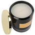 Winfield Home Decor, Velvet Tonka Bean Jar Candle, Black, 3 3/4 x 3 3/4 x 4 inches