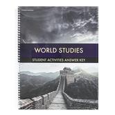 BJU Press World Studies Activity Manual Answer Key 4th Ed Grade 7