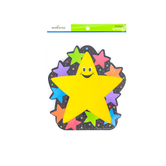 Renewing Minds, Happy Stars Notepads, 6.25 x 7.5 inches, 50 Count