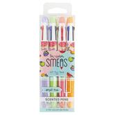 Scentco, Tri-Color Smens Scented Pens, 1 Each of 4 Scents