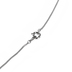 H.J. Sherman, Heart with Cross, Women's Necklace, Sterling Silver and Cubic Zirconia, 18 inches