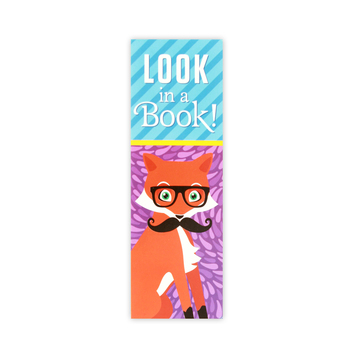 Renewing Minds, Look in a Book! Bookmarks, 2 x 6 Inches, Foxtrot, Multi-Colored, Pack of 36
