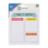Carson-Dellosa, Aim High Notepad, 5.75 x 6.25 Inches, Multi-Colored, 50 Sheets