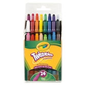 Crayola, Mini Twistables Crayons, 24 Count