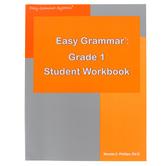 Easy Grammar Grade 1 Student Textbook, Paperback, Grade 1