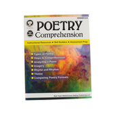 Carson Dellosa, Poetry Comprehension, Grades 6 to 8, Ages 11 to 13 Years, 64 Pages