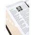 NLT Life Application Study Bible, Large Print, Bonded Leather, Black, Thumb Indexed