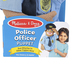 Melissa & Doug, Police Officer Puppet, 15 x 5 x 6 1/2 inches, Ages 3 and Older