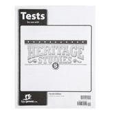 BJU Press, Heritage Studies 5 Tests Packet, 4th Edition, Grade 5