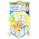 Melissa & Doug, Mine to Love Carrier Play Set Play Set, 5 Pieces, Ages 3 & Older