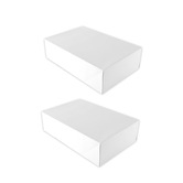Brother Sister Design Studio, Shirt Gift Boxes, White, 9 1/4 x 14 1/4 x 1 1/8 inches, 2 Boxes