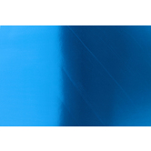 The Fine Touch, Heavy Poster Board, 22 x 28 Inches, Metallic Blue, 1 Piece