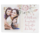 P. Graham Dunn, A Mother's Hug Lasts Long 2 x 3 Photo Frame, Whitewashed, 5 x 3.75 x 0.38 Inches
