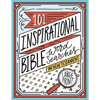 101 Inspirational Bible Word Searches: The New Testament, by Thomas Nelson, Paperback