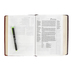 NLT Parallel Study Bible, Duo-Tone, Brown and Tan