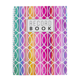 Renewing Minds, Rainbow Waves Record Book, Spiral, Multi-Colored