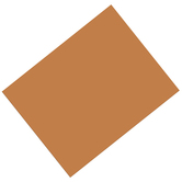 Pacon, Heavy Poster Board, 22 x 28 Inches, Brown, 1 Piece