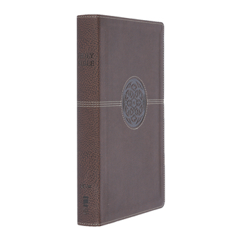 NIV Thinline Reference Bible, Large Print, Duo-Tone, Multiple Colors Available
