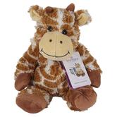 Warmies, Giraffe Stuffed Animal, Plush, Orange & White, 13 inches