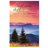Salt & Light, I Have Swept Away Your Offenses Church Bulletins, 8 1/2 x 11 inches Flat, 100 Count