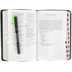 NVI Compact Large Print Spanish Bible, Bonded Leather, Black, Thumb Indexed