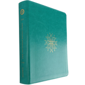 ESV Single Column Journaling Bible, Imitation Leather, Teal