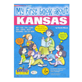 Gallopade, My First Book About Kansas, Paperback, 32 Pages, Grades K-3