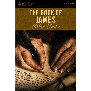 The Book of James, Rose Visual Bible Studies, by Len Woods, Paperback