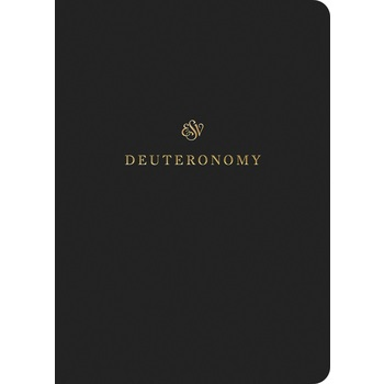 ESV Scripture Journal: Deuteronomy, Paperback, Black