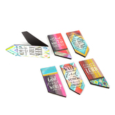 Salt & Light, Diamond and Stripe Magnetic Bookmarks, 6 Bookmarks