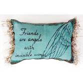 Friends Are Angels... Pillow