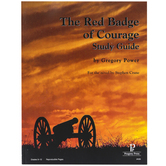 Progeny Press, The Red Badge Of Courage Study Guide, Paperback, 58 Pages,  Grades 9-12