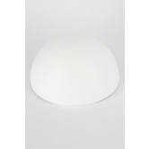 Smoothfoam Styrofoam Half-Ball, 8 Inches, White, Pack of 1