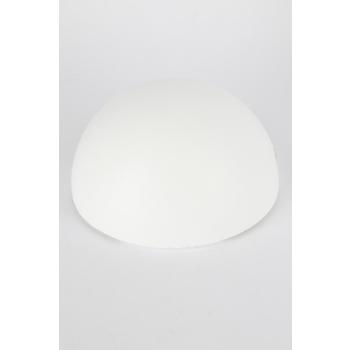 Smoothfoam Styrofoam Half-Ball, 8 Inches, White, Pack of 1
