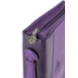 Christian Art, Butterflies Bible Cover, Leather-like, Purple, Large