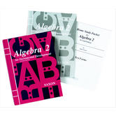 Saxon Algebra 2 Homeschool Kit w/Solutions Manual