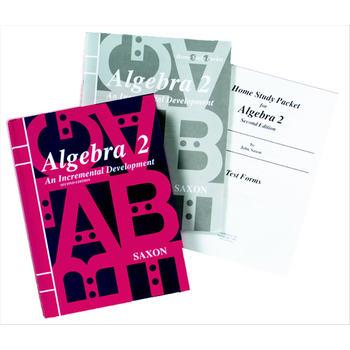 Saxon Algebra 2 Homeschool Kit w/Solutions Manual