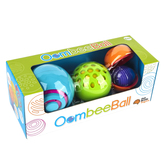 Fat Brain Toys, OombeeBall, 4 Piece Toy