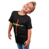 Gardenfire, John 8:12 Life Saver, Kid's Short Sleeve T-Shirt, Black, Large