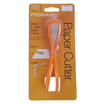 Fiskars, Paper Cutter, Orange, 6 1/2 x 1 inches