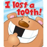 Carson-Dellosa, I Lost a Tooth! Motivational Badges, 2.75 x 3.25 Inches, Pack of 24