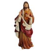 Roman Inc, Jesus Figurine, Resin, Multi-Colored, 6 1/4 Inches