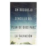 Good News Tracts, Un Bosquejo Sencillo Del Plan De Dios Para La Salvacion Tracts, Set of 25 Tracts