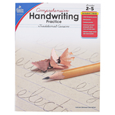 Carson-Dellosa, Comprehensive Handwriting Practice Traditional Cursive Resource Book, Paperback, Grades 2-5