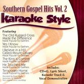 Southern Gospel Hits Volume 2, Karaoke Style, As Made Popular by Various Artists, CD+G