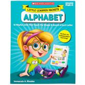Scholastic, Little Learner Packets: Alphabet Activity Book, Reproducible, 96 Pages, Grades PreK-K